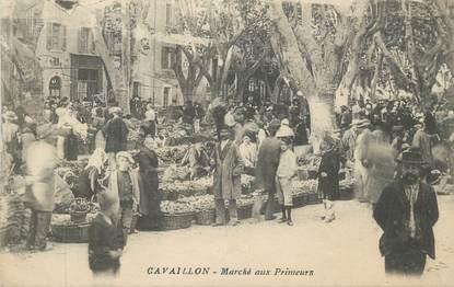 """CPA FRANCE 84 """"Cavaillon, Le Marché aux Primeurs"""""""