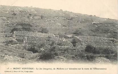 """CPA FRANCE 84 """"Le Mont Ventoux, Le Jas de Mellette"""""""