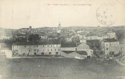 """CPA FRANCE 84 """"Visan, Vue générale Ouest"""""""