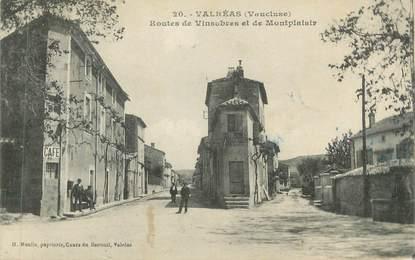 """CPA FRANCE 84 """" Valréas, Routes de Vinsobres et de Montplaisir"""""""