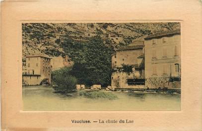"""CPA FRANCE 84 """" Fontaine de Vaucluse, La chute du lac"""""""