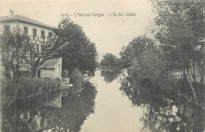 """CPA FRANCE 84 """" L'Isle sur Sorgue, L'Ile des Joutes"""""""