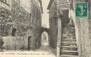 "06 Alpe Maritime / CPA FRANCE 06 ""La Turbie, porte romaine et rue du ghetto"""