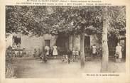 """69 RhÔne CPA FRANCE 69 """" St Priest, La Pelouse d'Enfants, un coin de la salle d'ombrage"""""""