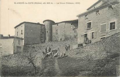 """CPA FRANCE 69 """" St André la Cote, Le vieux château"""""""