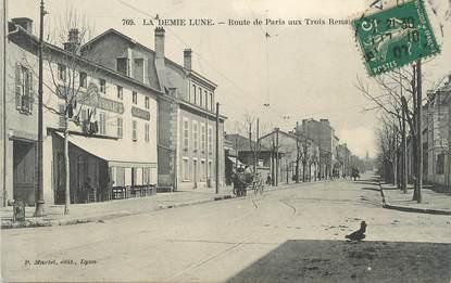 """CPA FRANCE 69 """" Tassin la Demi Lune, Route de Paris"""""""