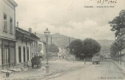 """CPA FRANCE 69 """" Tarare, Avenue de la gare"""""""