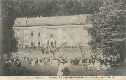 """CPA FRANCE 69 """" Le Vernay, Propriété communale de la Ville de Lyon"""""""