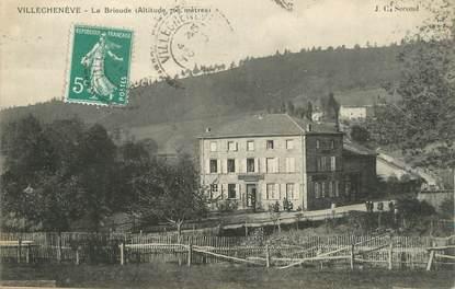 """CPA FRANCE 69 """" Villechenève, La Brioude'"""