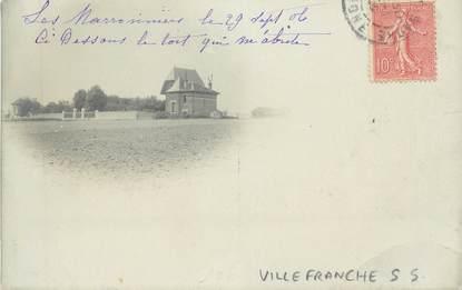 """CARTE PHOTO FRANCE 69 """" Villefranche sur Saône"""""""