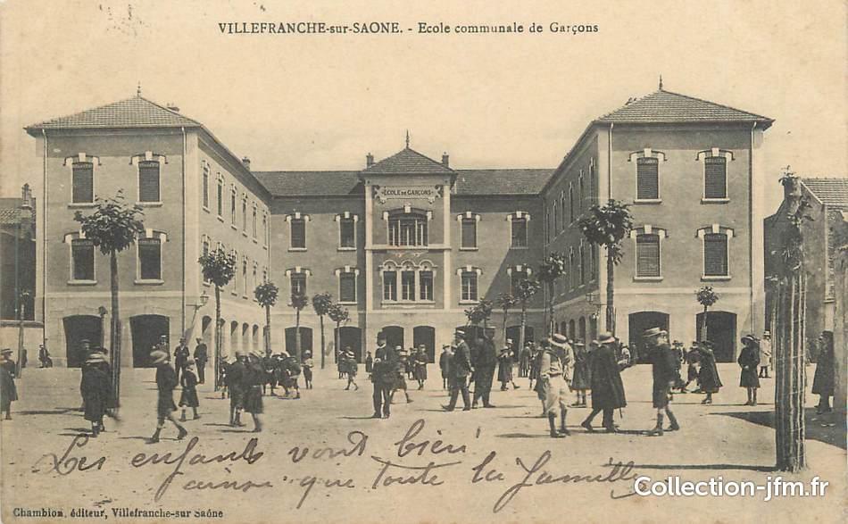 Cpa france 69 villefranche sur sa ne ecole communale de - Cours de cuisine villefranche sur saone ...