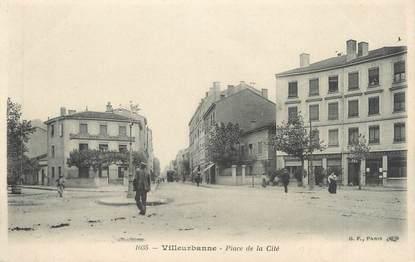 """CPA FRANCE 69 """" Villeurbanne, Place de la Cité"""""""