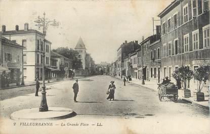 "CPA FRANCE 69 "" Villeurbanne, La Grande Place"""
