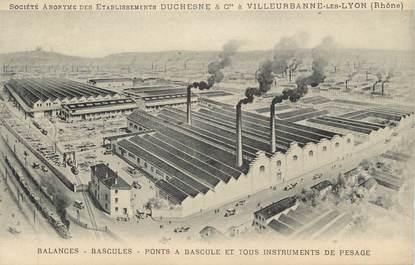 "CPA FRANCE 69 "" Villeurbanne, Les Etablissements Duchesne"""