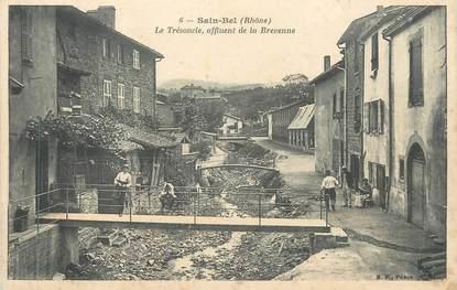 """CPA FRANCE 69 """" St Bel, Le Trésoncle affluent de la Brevenne"""""""