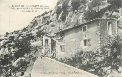 """CPA FRANCE 84 """" Route de la Nesque, Une ferme isolée"""""""