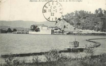 """CPA FRANCE 84 """" Cadenet, Le Bassin St Christophe"""""""