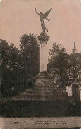 """CPA FRANCE 77 """"Meaux, monument aux morts"""""""