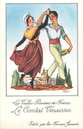 """CPA FRANCE 84 """"Le Comtat Vénaissin"""" / FOLKLORE"""