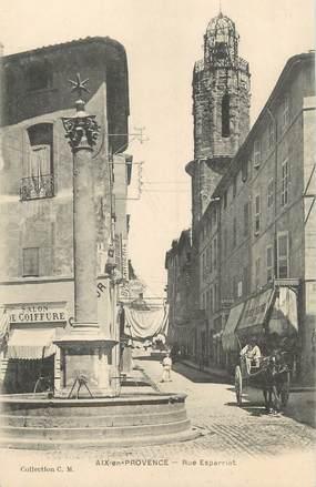 """CPA FRANCE 13 """" Aix en Provence, Rue Esparriat"""""""