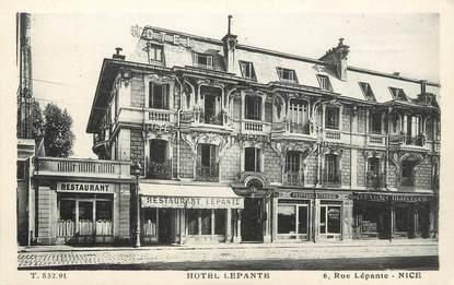 "/ CPA FRANCE 06 ""Nice, hôtel Lepante"""