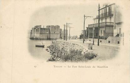"CPA FRANCE 83 "" Toulon, Le port St Louis du Mourillon"""