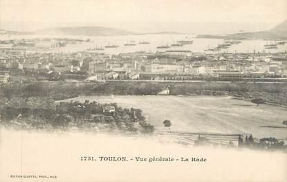 """CPA FRANCE 83 """" Toulon, Vue générale, la rade"""""""