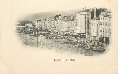 "CPA FRANCE 83 "" Toulon, Le Quai"""