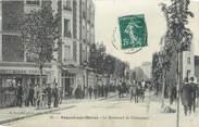"""94 Val De Marne CPA FRANCE 94 """" Nogent sur Marne, Le Boulevard de Champigny"""""""