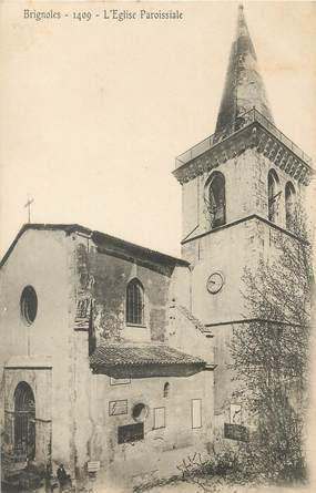 """CPA FRANCE 83 """" Brignoles, L'église paroissiale"""""""