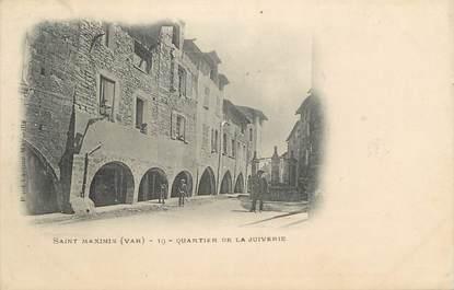 """CPA FRANCE 83 """" St Maximin, Quartier de la Juiverie"""" / JUDAICA"""