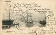 """13 Bouch Du Rhone CPA FRANCE 13 """"Marseille, le vieux port et les quais"""" / JEAN AICARD"""