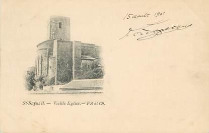 """CPA FRANCE 83"""" St Raphaël, La vieille église"""""""
