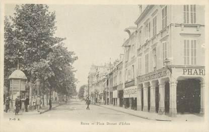 """CPA FRANCE 51 """" Reims, La Place Drouet d'Erlon"""""""