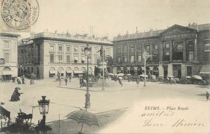 "CPA FRANCE 51 "" Reims, Place Royale"""