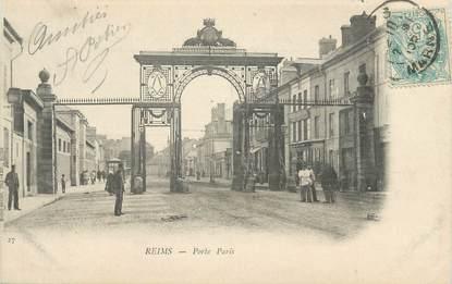 "CPA FRANCE 51 "" Reims, Porte Paris"""