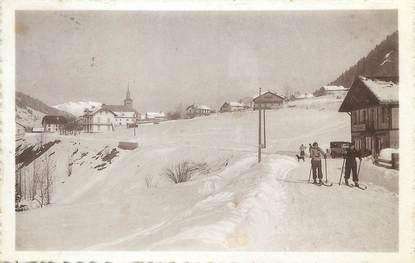 """CPA FRANCE 74 """"Les Contamines, Champ de Ski près la Patinoire"""""""