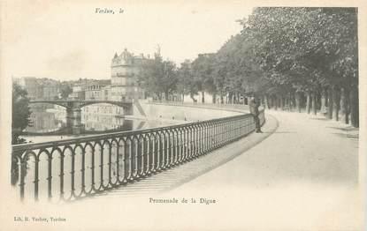 """CPA FRANCE 55 """" Verdun, La Promenade de la Digue"""""""