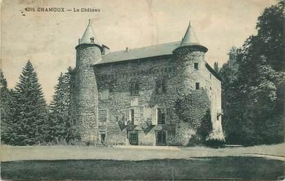 "CPA FRANCE 73 ""Chamoux, le chateau"