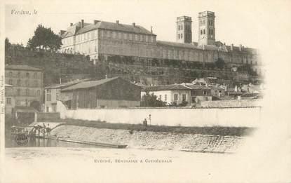 """CPA FRANCE 55 """" Verdun, Evéché, Séminaire et Cathédrale"""""""