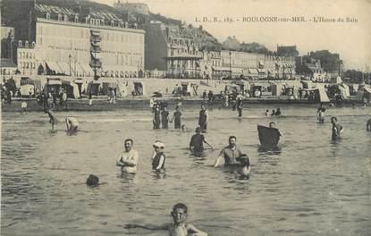 Cpa france 62 boulogne sur mer l 39 heure du bain 62 for Salle de bain boulogne sur mer