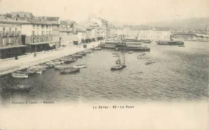"""CPA FRANCE 83 """"La Seyne sur Mer, Le port"""""""