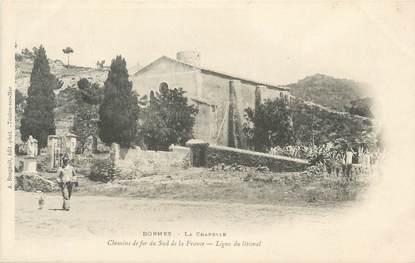 """CPA FRANCE 83 """" Bormes, La chapelle"""""""
