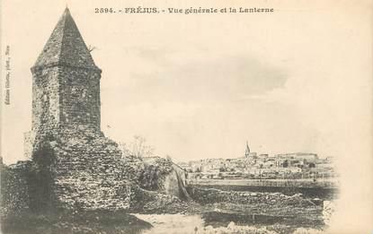 """CPA FRANCE 83 """"Fréjus, Vue générale et la Lanterne"""""""