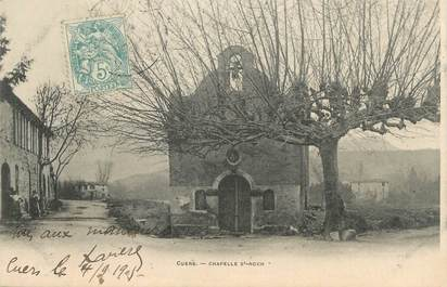"""CPA FRANCE 83 """"Cuers, Chapelle St Roch"""""""