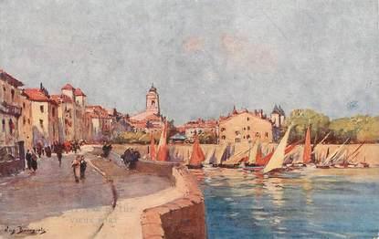 """CPA FRANCE 62 """" St Jean de Luz, Vieux Port"""""""