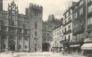 """11 Aude CPA FRANCE 11 """"Narbonne, Place de l'Hôtel de Ville"""""""