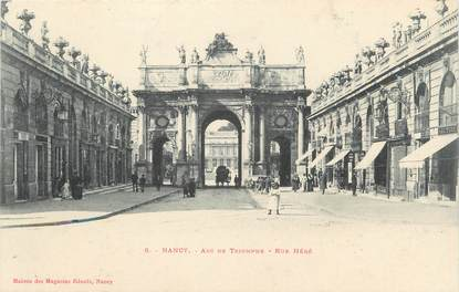 "CPA FRANCE 54 "" Nancy, L'Arc de Triomphe rue Héré"""