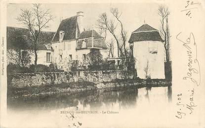 "CPA FRANCE 58 ""Brinon sur Beuvron, le chateau"""