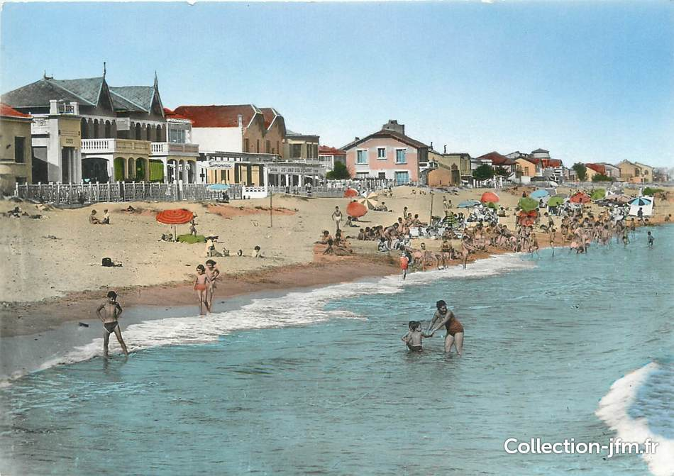 Carnon-Plage France  city photos : CPSM FRANCE 34